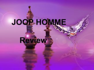 Joop Homme Cologne Review